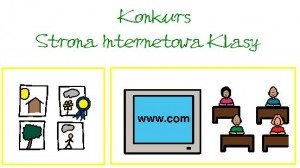 konkurs strona internetowa klasy