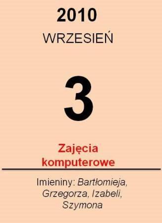 3wrzesnia