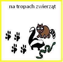 logo na tropach zwierzat
