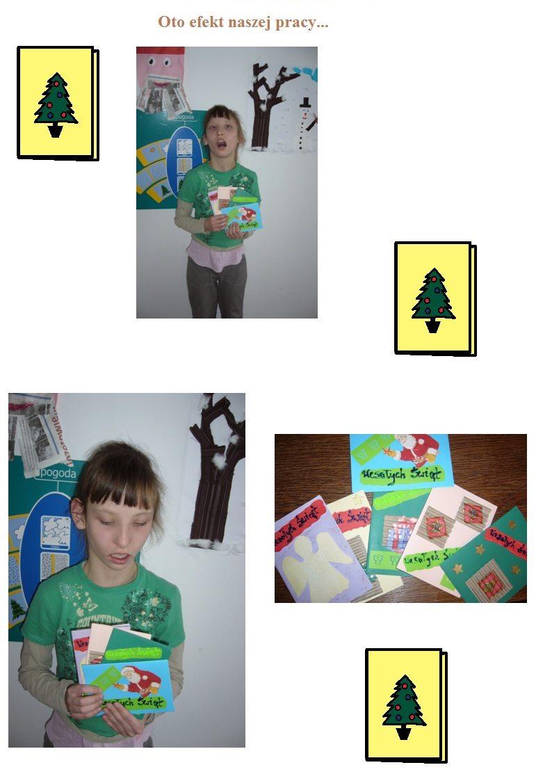 Kartki świąteczne cz.4- grudzień