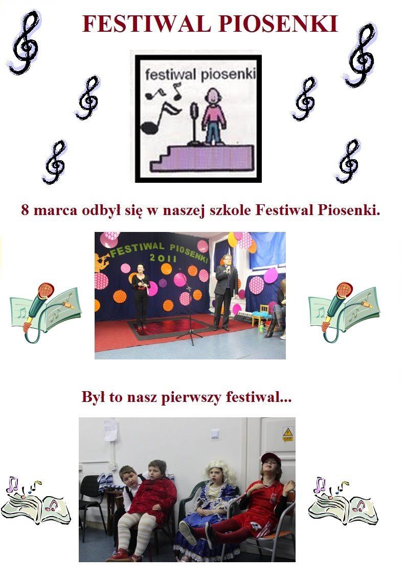 festiwal piosenki cz.1- marzec