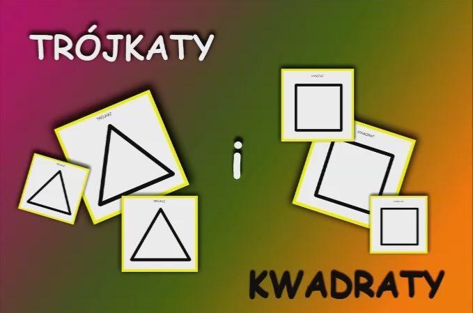 trojkaty i kwadraty