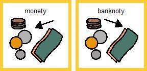 monety bankoty